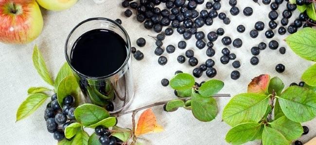 Сок из ягод черноплодной рябины поможет избавиться от геморроя