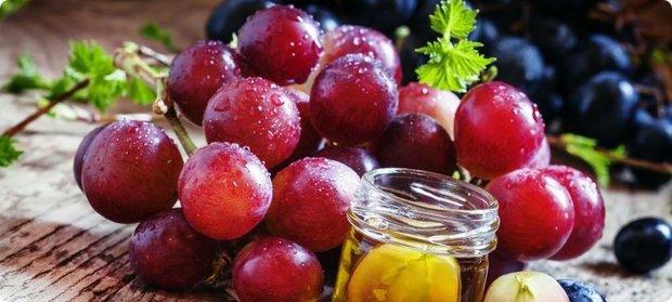 Виноград - отличное средство, стимулирующее память и концентрацию внимания
