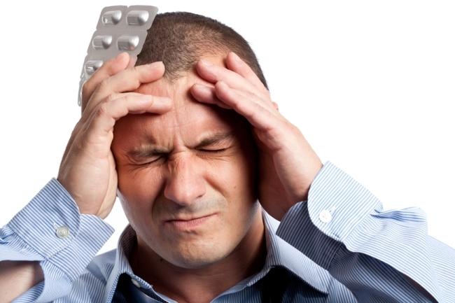 При передозировке Простатилена возникает сильная головная боль
