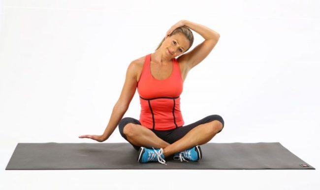 Лечебная физкультура поможет избавиться от болей в шее