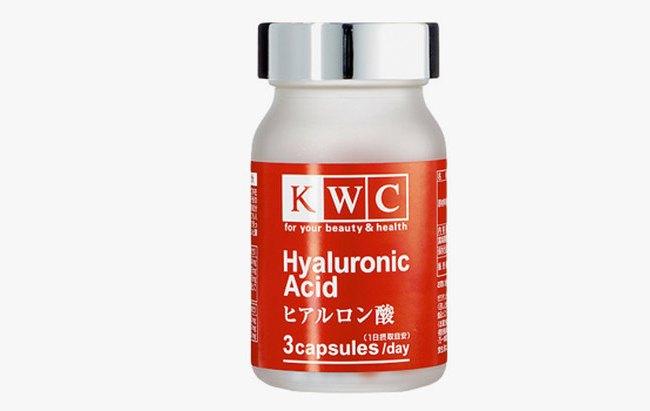 KWC - гиалуроновая кислота производства Японии, оказывает антивозрастное действие