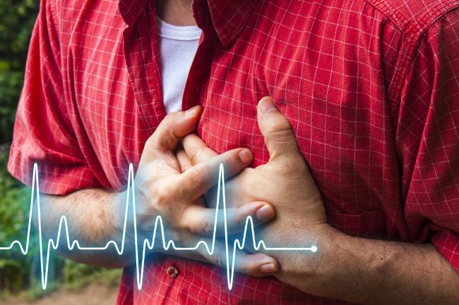 Ишемическая болезнь сердца сопровождается болями в области сердца