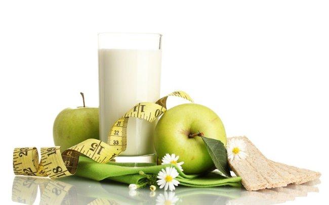 Кефир - отличное средство для борьбы с лишним весом