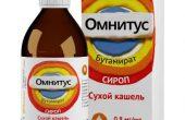 Омнитус – инструкция, показания, состав, способ применения сиропа и таблеток при кашле