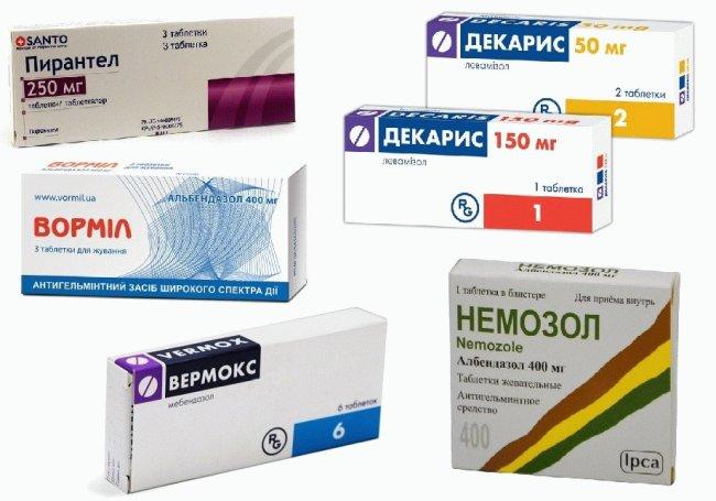 Существует много различных препаратов, способных быстро уничтожить остриц в организме человека