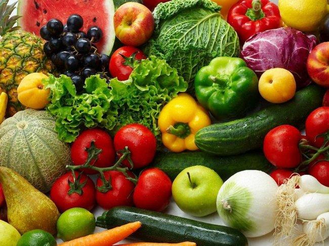 Диета при псориазе должна состоять на 70% из овощей и фруктов
