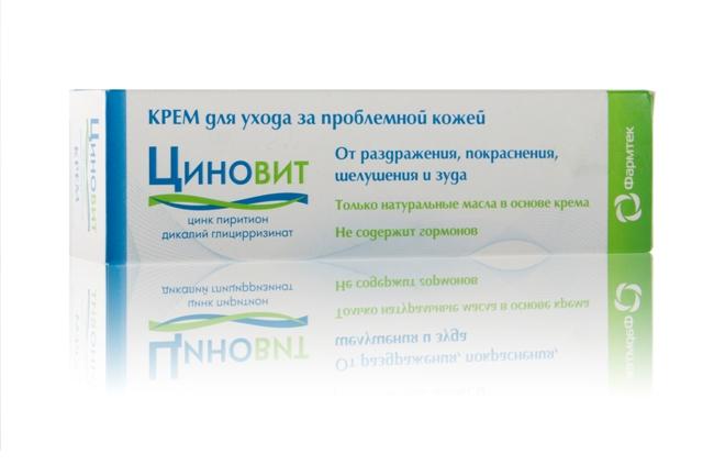 Циновит - аналог Радевита, устраняет проявления аллергии на коже