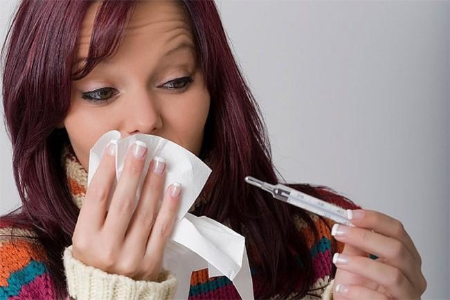 Синусит часто возникает, как осложнение после гриппа или простуды