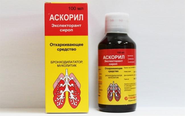 Сироп Аскорил - отличное противокашлевое средство для детей, обладается бронхолитическим и отхаркивающим действием