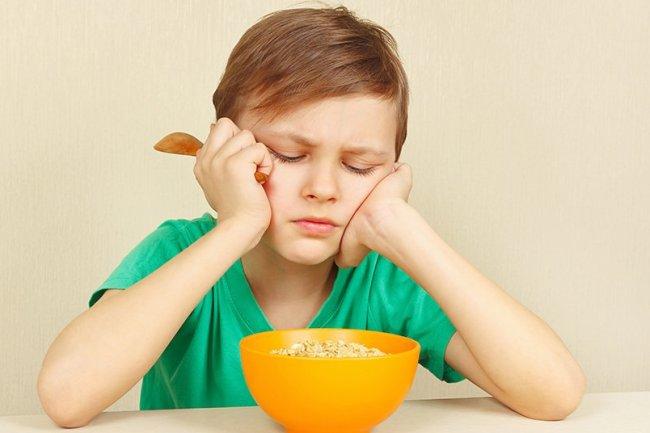 Туберкулез у детей сопровождается ухудшением аппетита