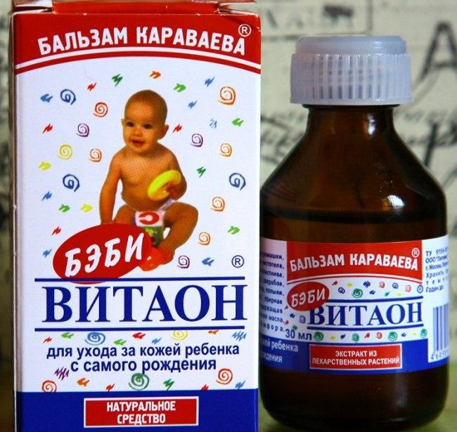 Витаон беби применяется для профилактики и лечения опрелостей у детей