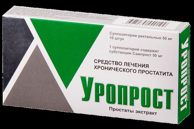 Уропрост - аналог Витапроста, имеет тот же состав, применяется для лечения простатита