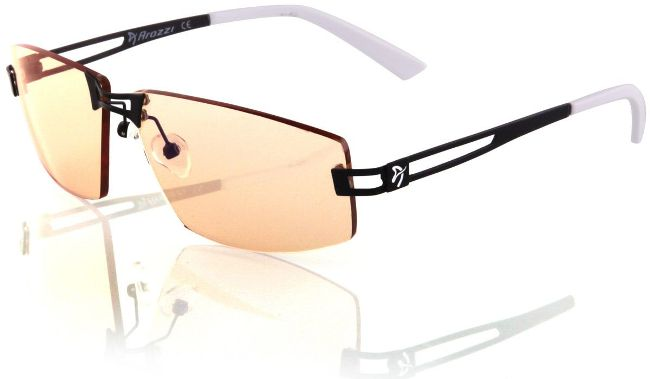 Очки ArozziVisioneVX-500 занимают второе место в рейтинге лучших защитных средств для глаз при работе за компьютером