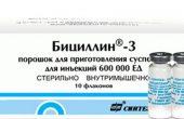 Бициллин 3 – инструкция по применению противомикробного препарата, противопоказания