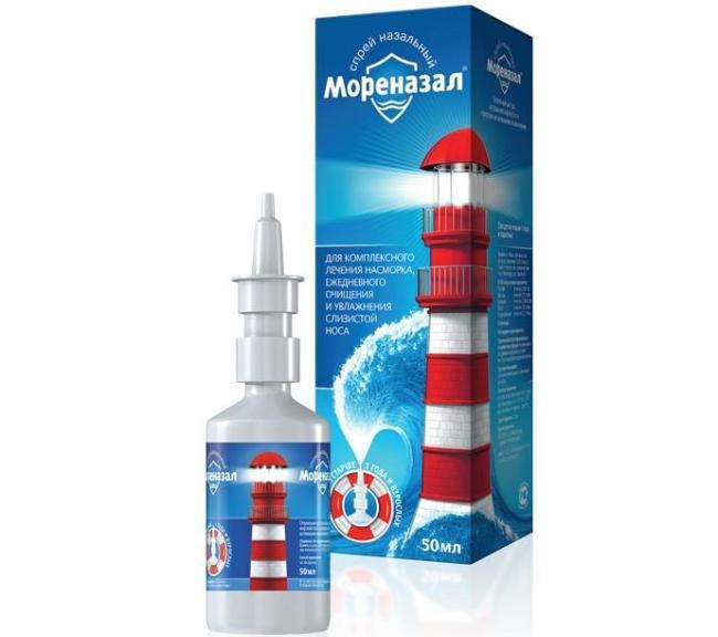 Мореназал - аналог Долфина, обладает противовоспалительным действием