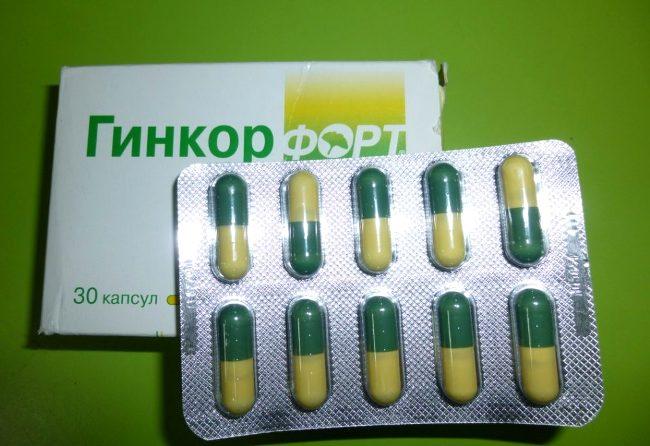 Гинкор Форт - аналог Флебодиа 600, обладает ангиопротекторным действием и улучшает микроциркуляцию в сосудах