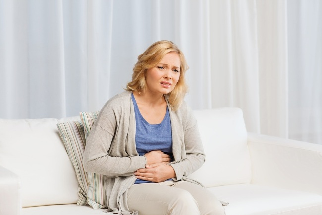 При приеме Флемоксина Солютаба могут возникнуть боли в животе