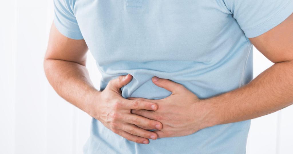 Глисты могут вызывать боли в животе и различные расстройства пищеварения