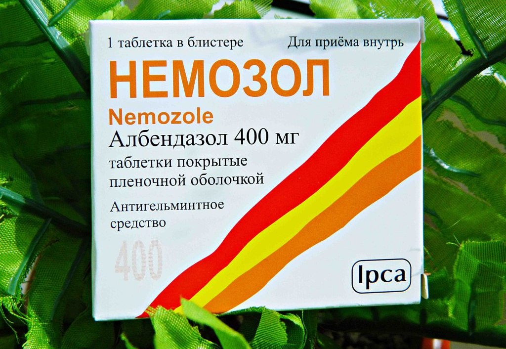 Немозол - противогельминтное средство для борьбы с различными видами паразитов