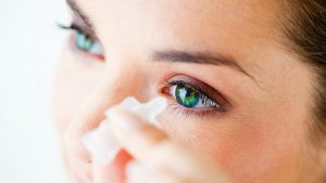 Глазные капли Левофлоксацин применяются для лечения инфекционных заболеваний глаз