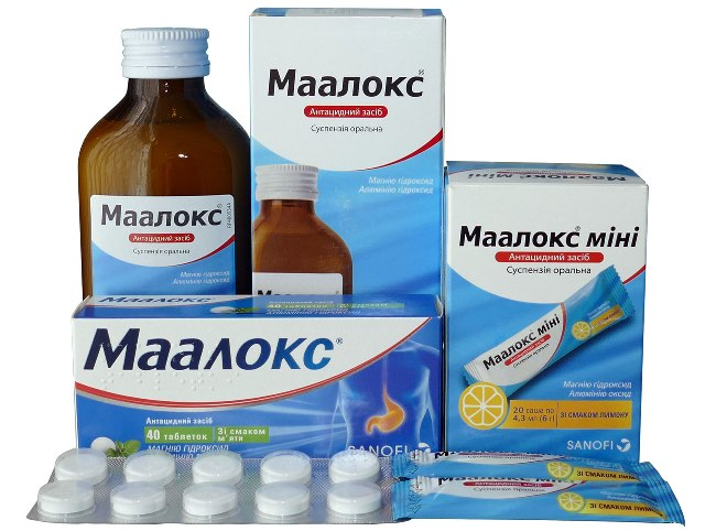 Маалокс - препарат для лечения желудочно-кишечных расстройств, обладает антацидным, обволакивающим и адсорбирующим действием
