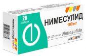 Нимесулид – инструкция, показания, состав, способ применения таблеток, геля, суспензии, порошка
