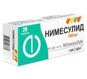 Нимесулид - нестероидное противовоспалительное средство, обладает анальгезирующим, жаропонижающим и противовоспалительным действием