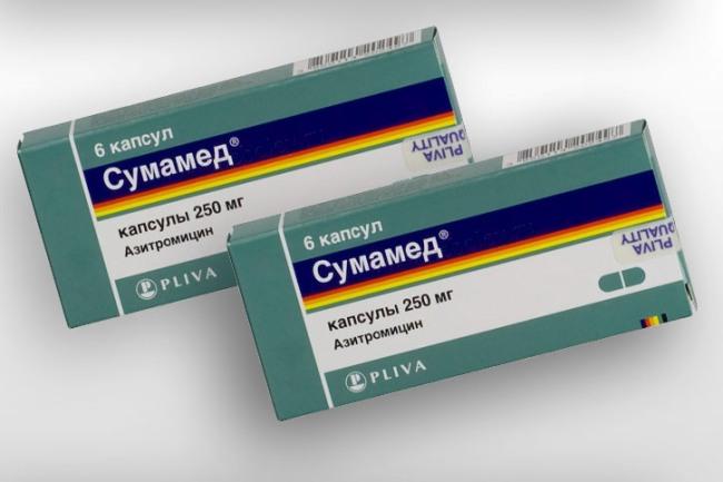 Сумамед - антибиотик широкого спектра действия, оказывает бактерицидный эффект