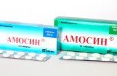 Амосин – инструкция по применению таблеток и порошка, показания и аналоги