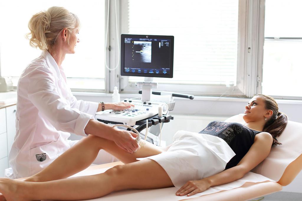 УЗИ сосудов - информативный метод диагностики заболеваний вен