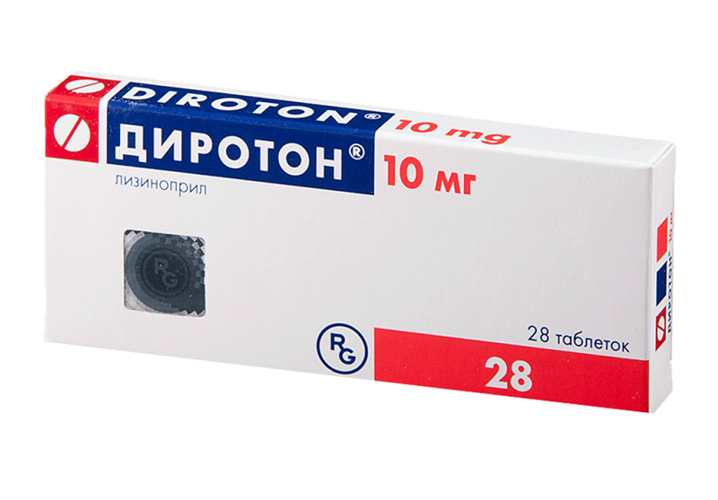 Диротон - аналог Периндоприла, обладает сходным механизмом действия