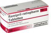 Рамиприл® 2.5, 5 и 10 мг – инструкция, показания, состав, способ применения таблеток