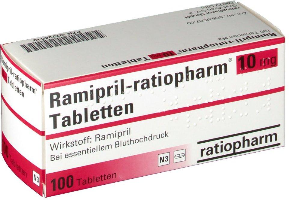 Рамиприл - препарат для лечения артериальной гипертензии