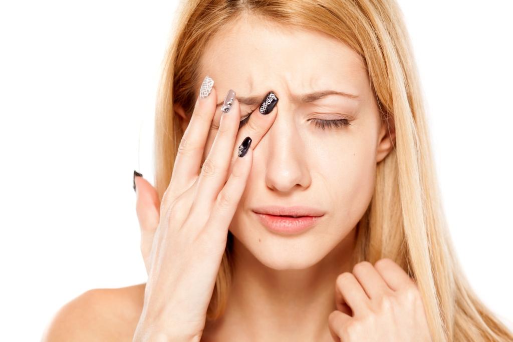 Жжение в глазах - побочный эффект капель Софрадекс