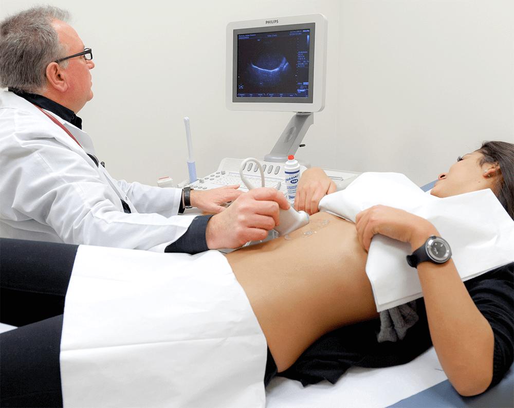 УЗИ органов брюшной полости позволяет выявить различные патологии печени, желчного пузыря и поджелудочной железы