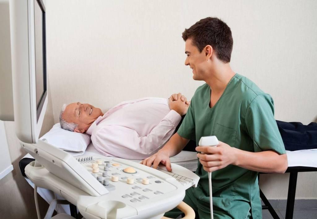 Проведение УЗИ предстательной железы