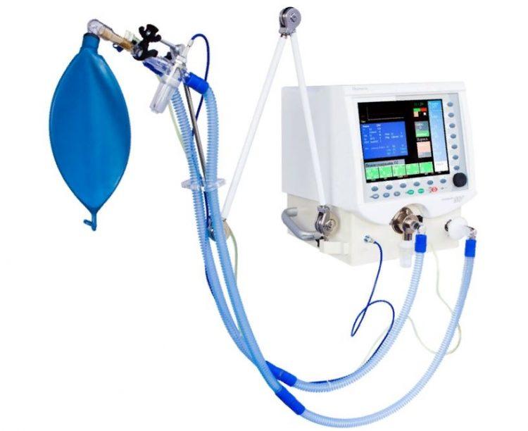 Аппарат искусственной вентиляции легких.