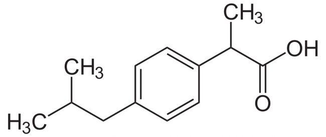 5 мл суспензии Нурофен содержит Ибупрофен – 100 мг. Так же и дополнительные ингредиенты, включая сахарин натрия