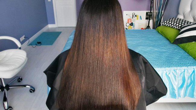 Ботокс позволяет восстановить структуру стержня волоса