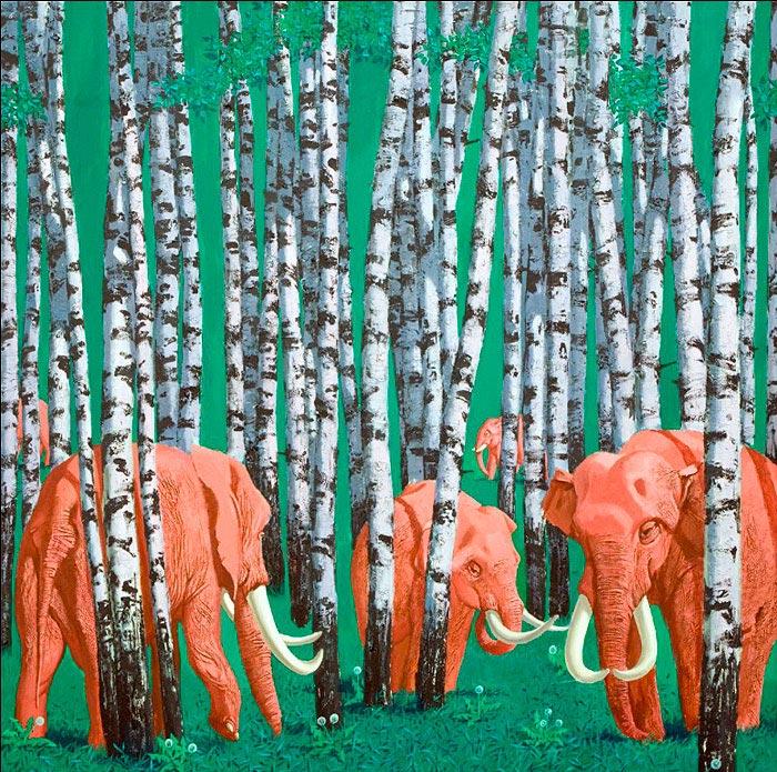 Галлюцинации - красные слоны