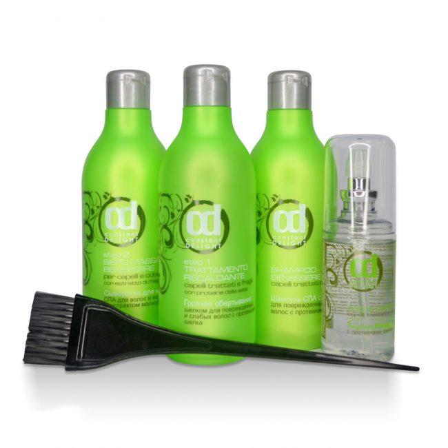 Наборы профессиональных средств для ламинирования волос в домашних условиях