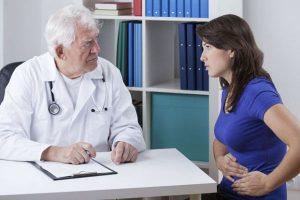 При первых признаках следует обратиться к врачу