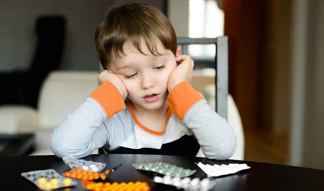 Таблетки Тавегил допустимо потреблять только детьми старше шести лет