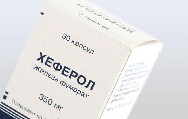 Хеферол- один из самых популярных препаратов при железодефицитной анемии