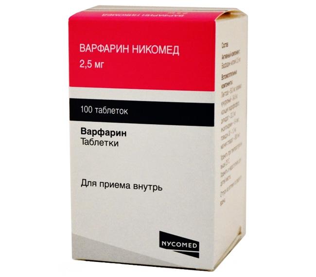 Варфарин - антикоагулянт непрямого действия, снижающий вероятность образования тромбов. Применяется в лечении и профилактике тромбозов любой локализации