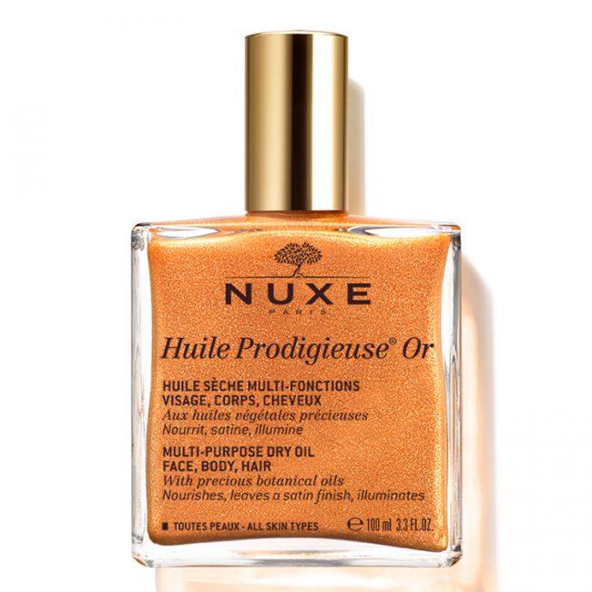 Масло Huile Prodigieuse OR от NUXE оздоровляет кожу и волосы, защищает от негативного воздействия ультрафиолета