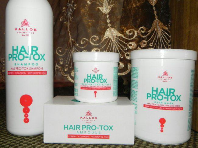 Hair PRO TOX подходит для любого типа волос, имеет приятный аромат.