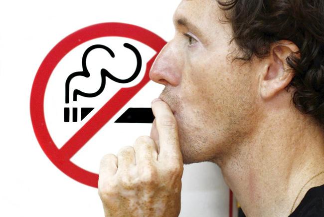 Необходимым условием полноценной реабилитации - есть отказ от вредных привычек