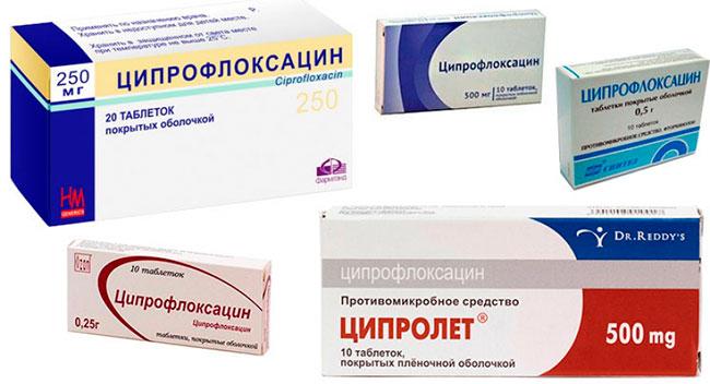 Лекарственную форму Ципрофлоксацина, а также суточную дозу определяет ваш лечащий врач индивидуально в соответствии с формой заболевания, а также особенностями организма