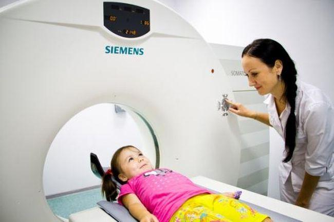 Диагностировать ДЦП можно с помощью КТ и МРТ